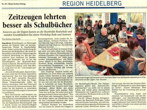 Rhein-Neckar-Zeitung v. 15.12.2016, Nr. 291, S.5