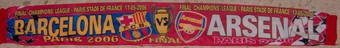 BARCELONA VS ARSENAL  CHAMPIONS DEL 2006