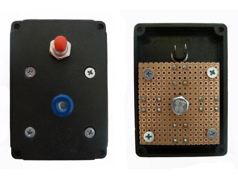 Mini-Joystick (Ober- und Unterseite)