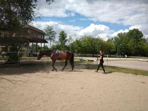 Leonie mit Bussi