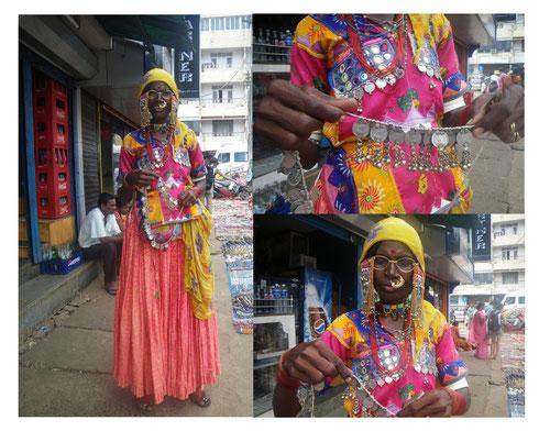 Mujer de Karnataka