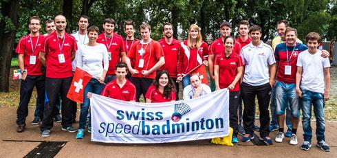Schweizer Team an der WM 2015 in Berlin (©Adrian_Ehrbar_Photography)