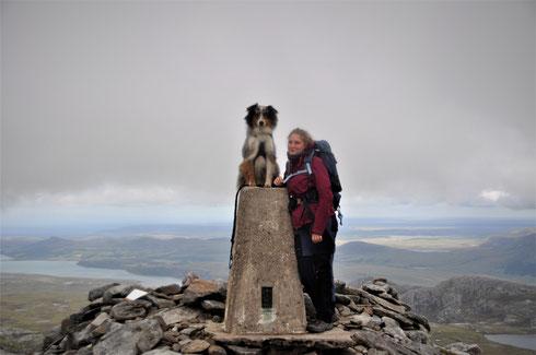 randonnée en ecosse, road trip scotland, voyager avec son chien, ben hope