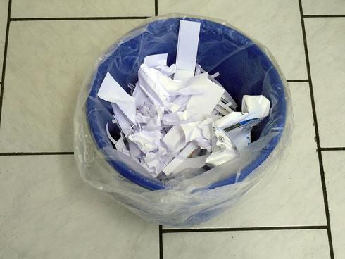 Sieht Ihr Papierkorb auch so aus? (Quelle: pixabay.com)