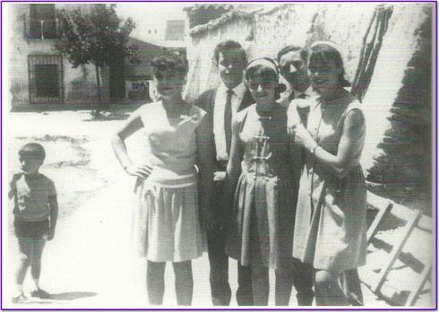 Travesía Calle Mayor 1965. Fotografía cortesía de Alberto García