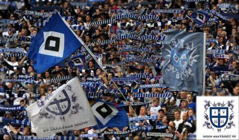 Volkparkstadion, Nordkurve, A-Rang, HSV Fans