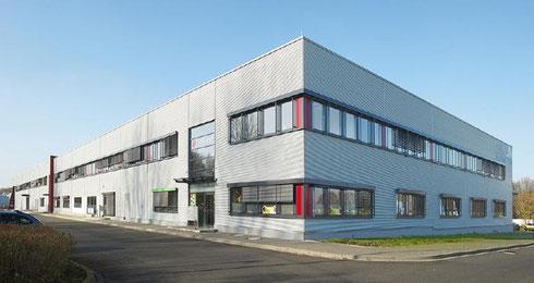 Firmengebäude von print & display Deutschland