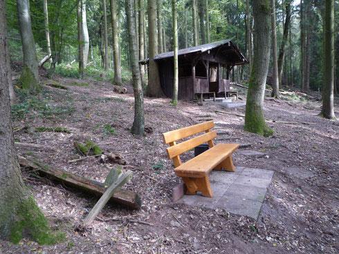 Die neue Sitzbank. Foto J. Spatz