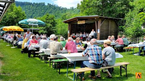Räucher-Fest Angelsportverein Bad Lauterberg Juni 2016
