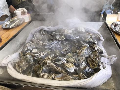 牡蠣食べ放題 松島