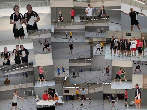 Unsere Badminton - Abteilung ist sehr aktiv!