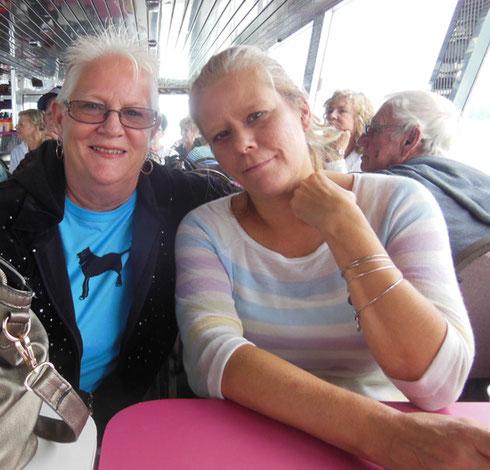2015 Two Island Ladies Having Some Shipboard Fun in The Bar