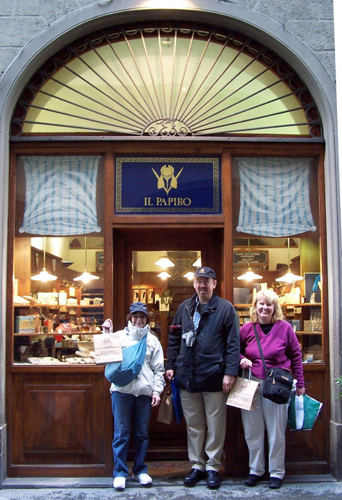 2005 Florence has many Shops Specializing in Paper and Stationery