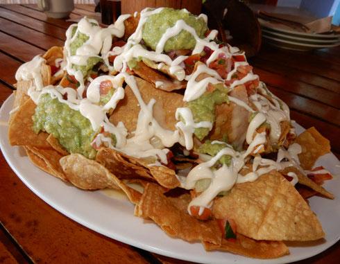 2018 Tamarindo Beach, Costa Rica - the best nachos are at Witche's Rock