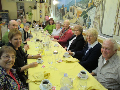 Group Dinners are Part of the Fun on Mystery Tours