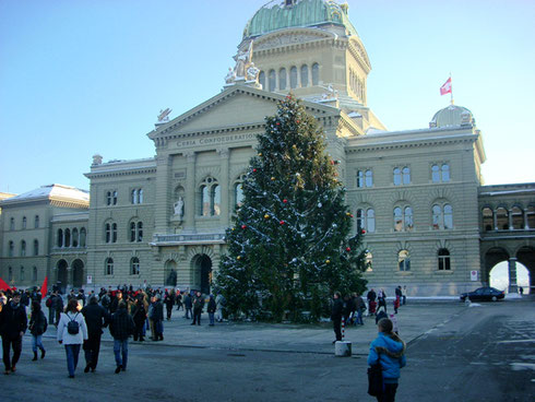 2008 The Parliament House in Bern, Switzerland, a City that Knows How to Do Christmas