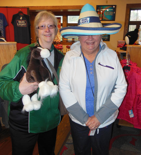2016 Here are Two Happy Shoppers After our Budweiser Tasting In Merrimac, NH