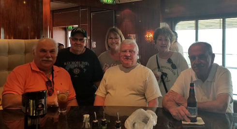 2018 A Group at O'Sheahan's Pub, open 24-7 aboard Norwegian Gem - Whoo-hoo!