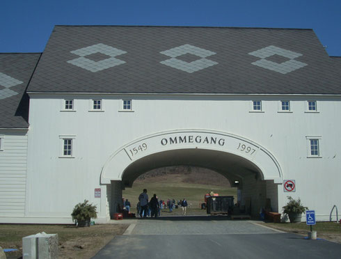 2011 Ommegang Brewery was Located out in the Country and Looked like Bavaria