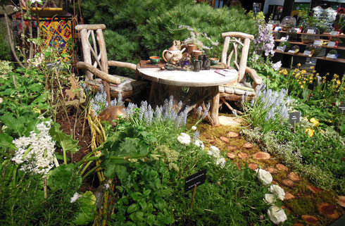 Tea Time at the 2016 Boston Flower Show was One of the Best Floral Displays