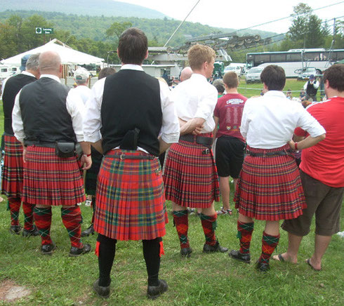 Bagpipers Hunter Mountain