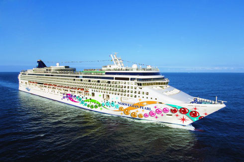 Norwegian Pearl is your Home away from Home for 8 Days and 7 Fabulous Nights