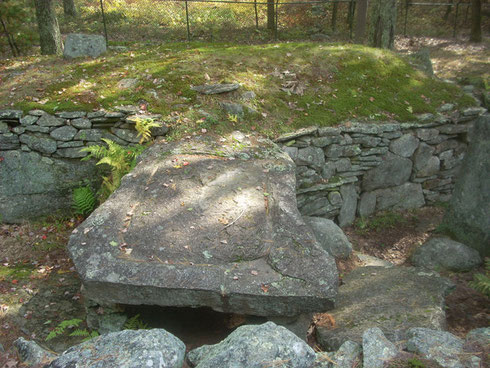 The Sacrificial Slab at America's Stonehenge dates back about 4000 Years
