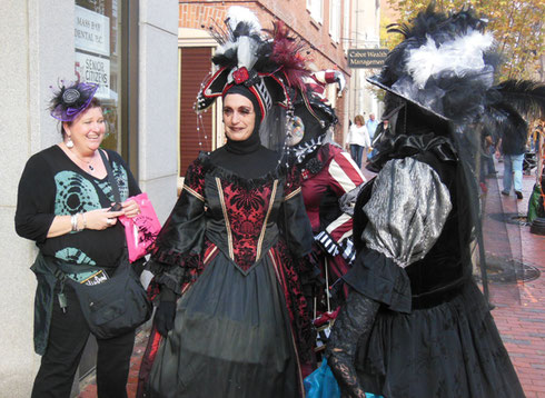 Salem is Wild this time of Year - Everybody Arrives in Costumes