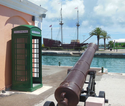 2014 Kings Square at St. George, Bermuda is Equally Great for Shopping and Sightseeing