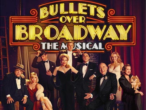 2016 Bullets over Broadway - the Musical
