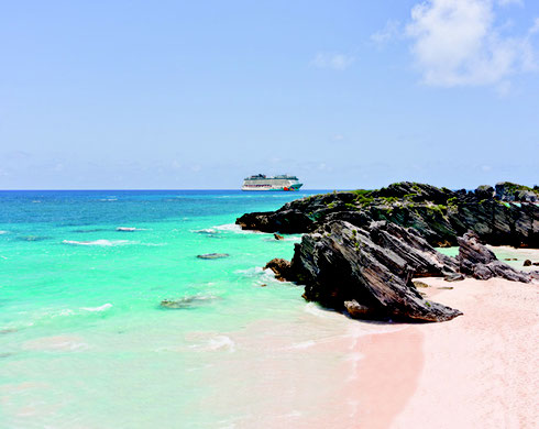 Pink Sand Beaches and Azure Waters in Bermuda