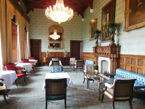 2014 The Sitting Room at Ashford Castle is Used at Tea Time and for Fancy Receptions