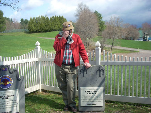 A Passenger Mourns at the Ben & Jerry's Graveyard for Discontinued Flavors