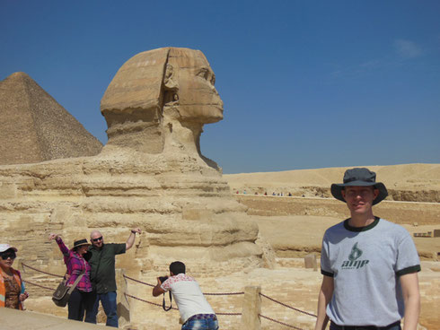 2016 The New Viewing Platform let's Photographers Get Personal with the Mysterious Sphinx