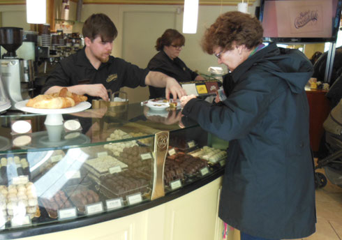 2015 Shopping for Chocolate at Butler's in Galway is Serious Business