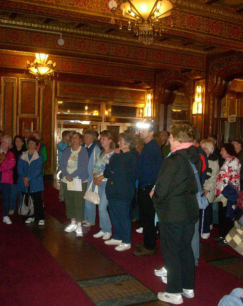 Some Years Ago, Our Group took a Private Tour of Providence Performing Arts Center
