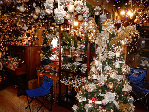 The Oakwood Farms Christmas Barn is Jammed Floor to Ceiling with Christmas Treats