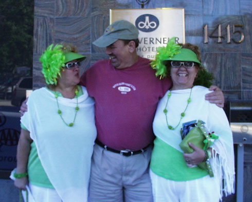 We met Jeannette and Claudette at the Festival of Twins while in Montreal, Canada