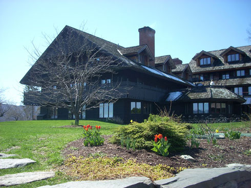 Spring is a Marvelous Time to Visit the Trapp Family Lodge in Stowe, Vermont