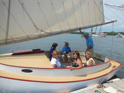 These Folks Chartered a Sailboat for an Hour Complete with Captain