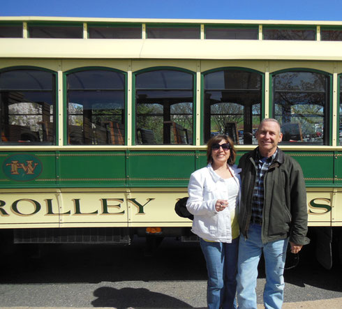 2013 The Trolley Brought us All Over Hershey, Pennsylvania on our Tour