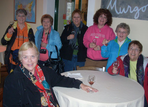 2011 Everybody at Murgo Winery on the Slopes of Mt. Etna Sends a Warm Hello