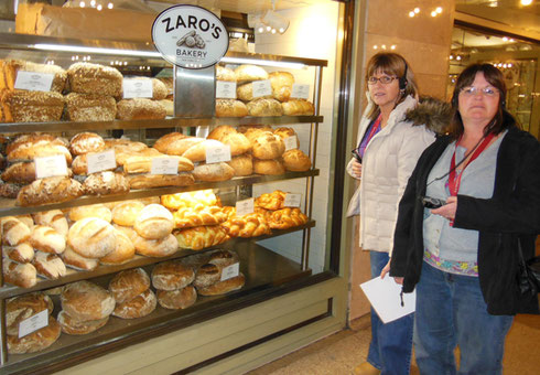 2010 Zaro's Bakery at Grand Central Station is a Great Place to Shop for Bread and Pastry