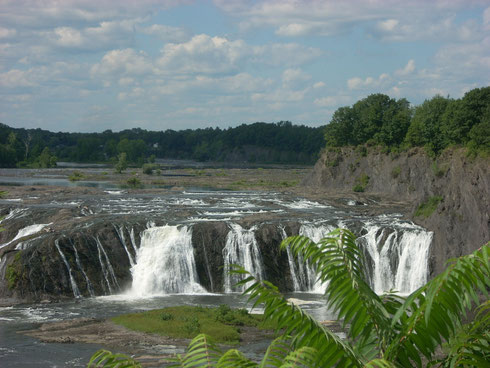 Cohoes Falls near Albany, NY was one of our Destinations for Summer 2011