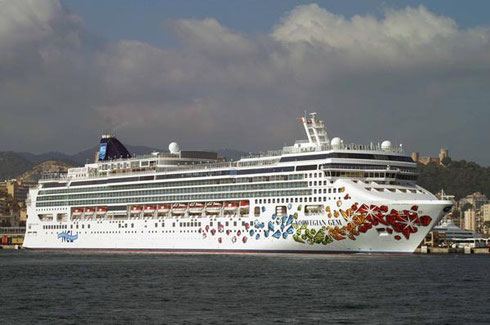 Norwegian Cruise Lines Gem is at your service - your Home Away from Home