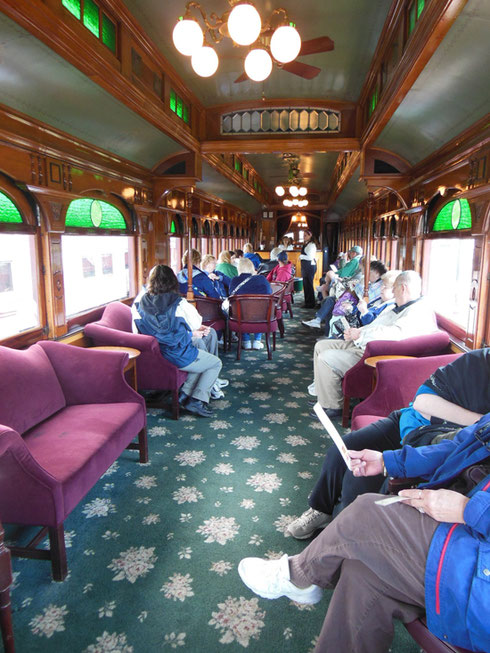 2013 The First Class Car on the Strasbourg Railroad Served Drinks - Ooh-la-la!