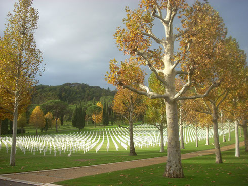 2012 A Visit to the American Cemetery just outside Florence is a Fine Tribute