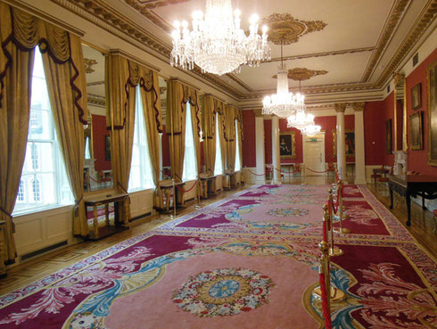 2014 The State Drawing Room at Dublin Castle is used Today for Diplomatic Receptions