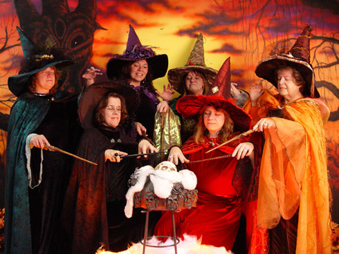 All of these witches were with us on our 2009 trip to Salem - Do you Believe in Witches?