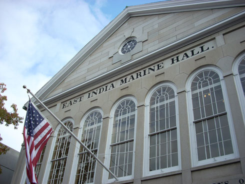 The East India Marine Hall is Incorporated in the World Famous Peabody Essex Museum